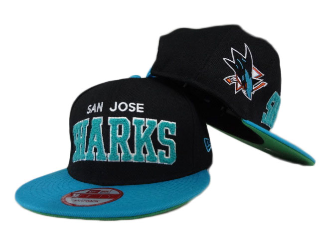 San Jose Sharks NHL Snapback Hat ZY14