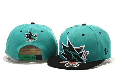 San Jose Sharks Hat YS 150226 04
