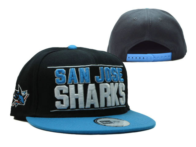 San Jose Sharks Snapback Hat SF