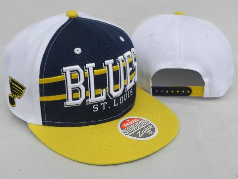 St.Louis Blues NHL Snapback Zephyr Hat DD05