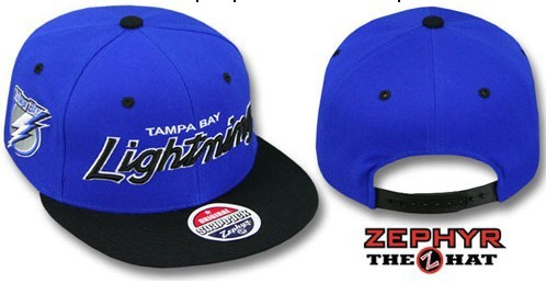 Tampa Bay Lightning NHL Snapback Hat Sf