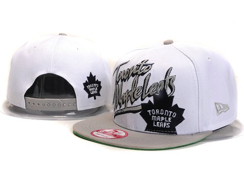 Toronto Maple Leafs MLB Snapback Hat YX162