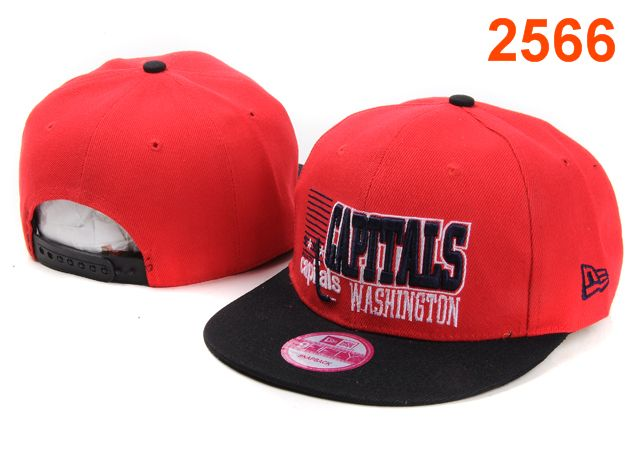 Washington Capitals NHL Snapback Hat PT01