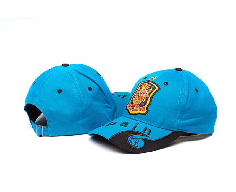 Spain Light Blue Hat