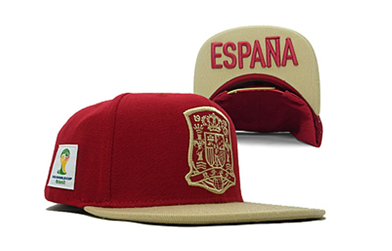 Adidas Espana 2014 World Cup Federation Snapback Hat GF 0701