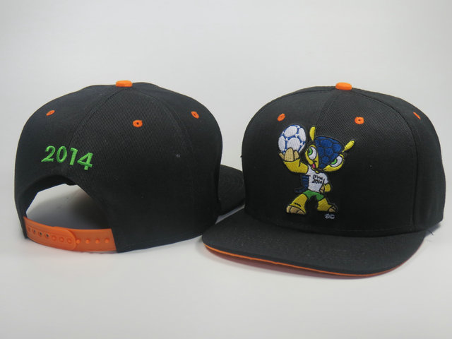 2014 World Cup Mascot Snapback Hat LS 1 0617