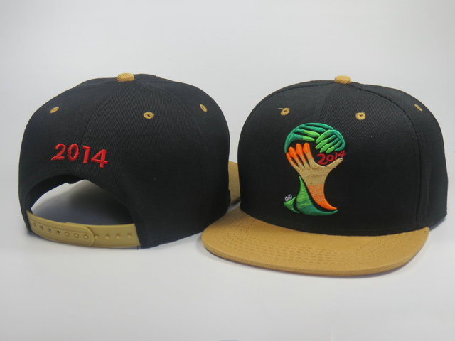2014 World Cup Mascot Snapback Hat LS 0617