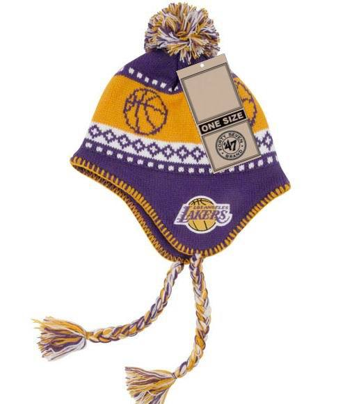 NBA Los Angeles Lakers Winter Hat JT