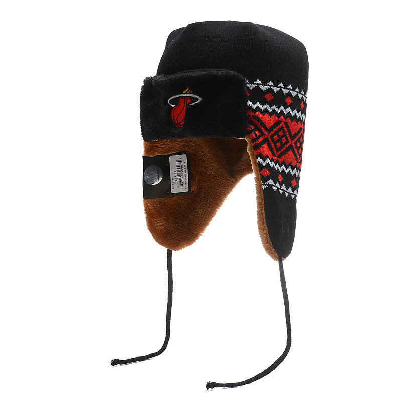 NBA Miami Heat The Team Trapper Hat SD