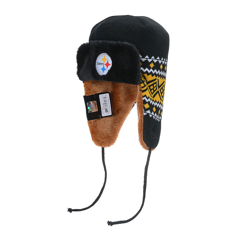NFL Pittsburgh Steelers The Team Trapper Hat SD