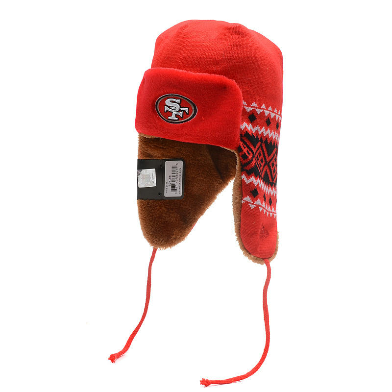 NFL San Francisco 49ers The Team Trapper Hat SD