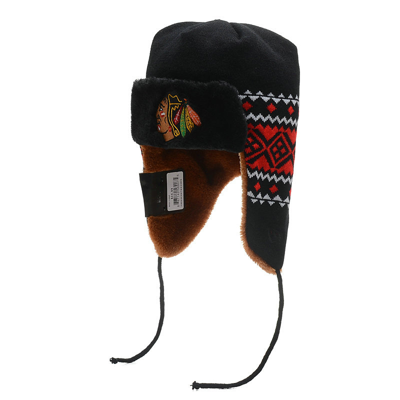 NHL Chicago Blackhawks The Team Trapper Hat SD