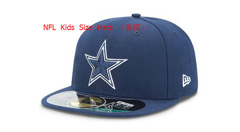 Kids Dallas Cowboys Blue Fitted Hat 60D 0721